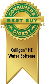 Consumers Digest Best Buy Culligan High Efficiency Ribbon